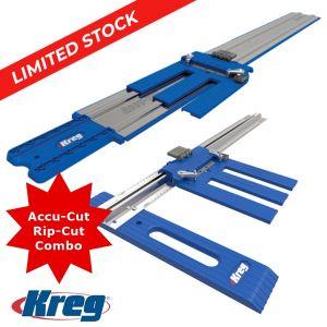Kreg Rip-Cut and Accu-Cut Combo