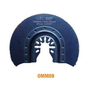 87mm Radial Saw Blade for Wood with Universal Arbor
