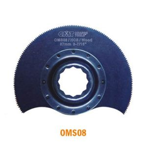 87mm Radial Saw Blade for Wood with Arbor for Fein SuperCut & Festool Vecturo