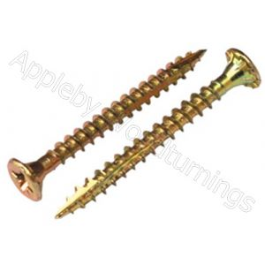 6.0 x 120mm Reisser CUTTER Woodscrews 100pcs