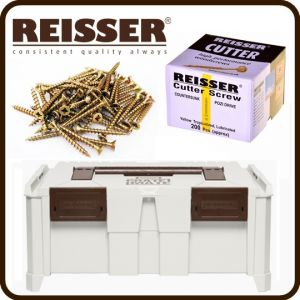 REISSER Crate Mate SSC2 Promo Offer - Cutter Screw Pack Bundle