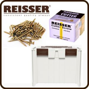 REISSER Crate Mate SSC3 Promo Offer - Cutter Screw Pack Bundle