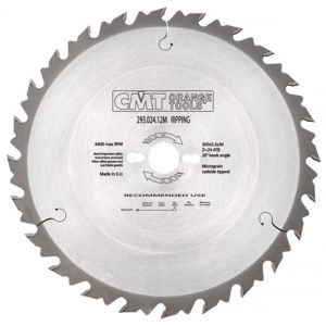 600mm Z=40 ATB CMT Rip Saw Blade Id=30mm 286.040.24M