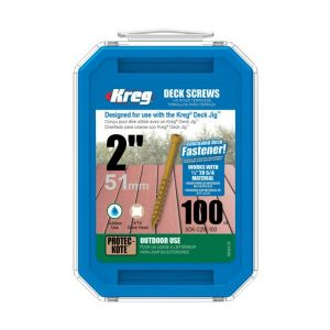 "Kreg 2"" (51mm) Protec Kote #8 Coarse Deck Fixing Screws 100pcs"