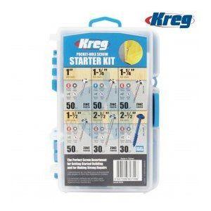 Kreg Durable Easy To Carry Pocket-Hole Starter Screw Kit 260pcs SK04-INT