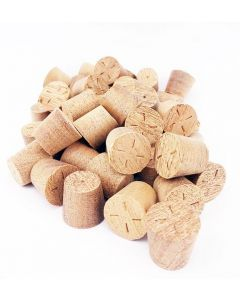 12mm Sapele Tapered Wooden Plugs 100pcs