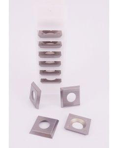 14 x 14 x 2mm Reversible Carbide Spur Tip Knives 1 Box ( 10pcs )