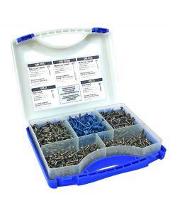 KREG Pocket Hole SCREW Kit 675pcs Boxed Set SK03