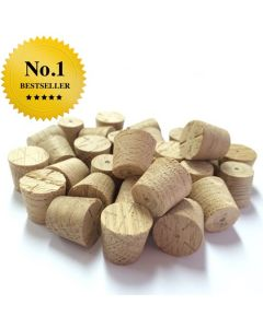 12mm European Oak Tapered Wooden Plugs 100pcs