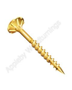5.0 x 80mm Reisser CUTTER Woodscrews 200pcs