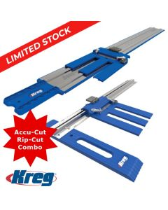 Kreg Rip-Cut and Accu-Cut Combo